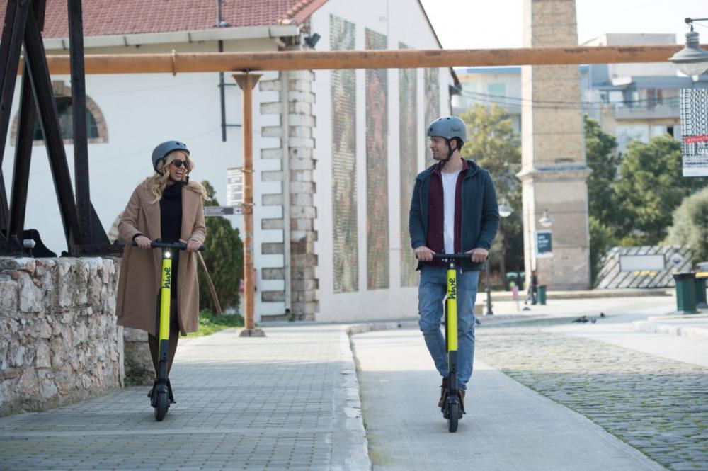 Hive: ενθαρρυντικά τα πρώτα στοιχεία από τη χρήση των ηλεκτρικών πατινιών στην Αθήνα