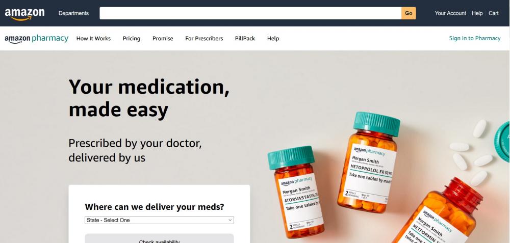 Φαρμακείο η Amazon