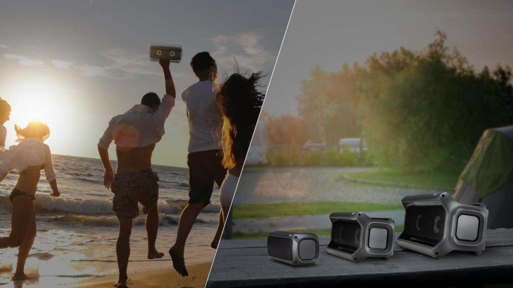 Nέες τεχνολογίες στα φορητά  Bluetooth ηχεία της LG για το 2018