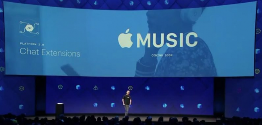 Streaming μουσική στο Facebook Messenger