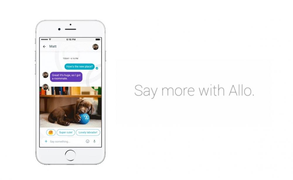 Allo: η έξυπνη εφαρμογή μηνυμάτων της Google