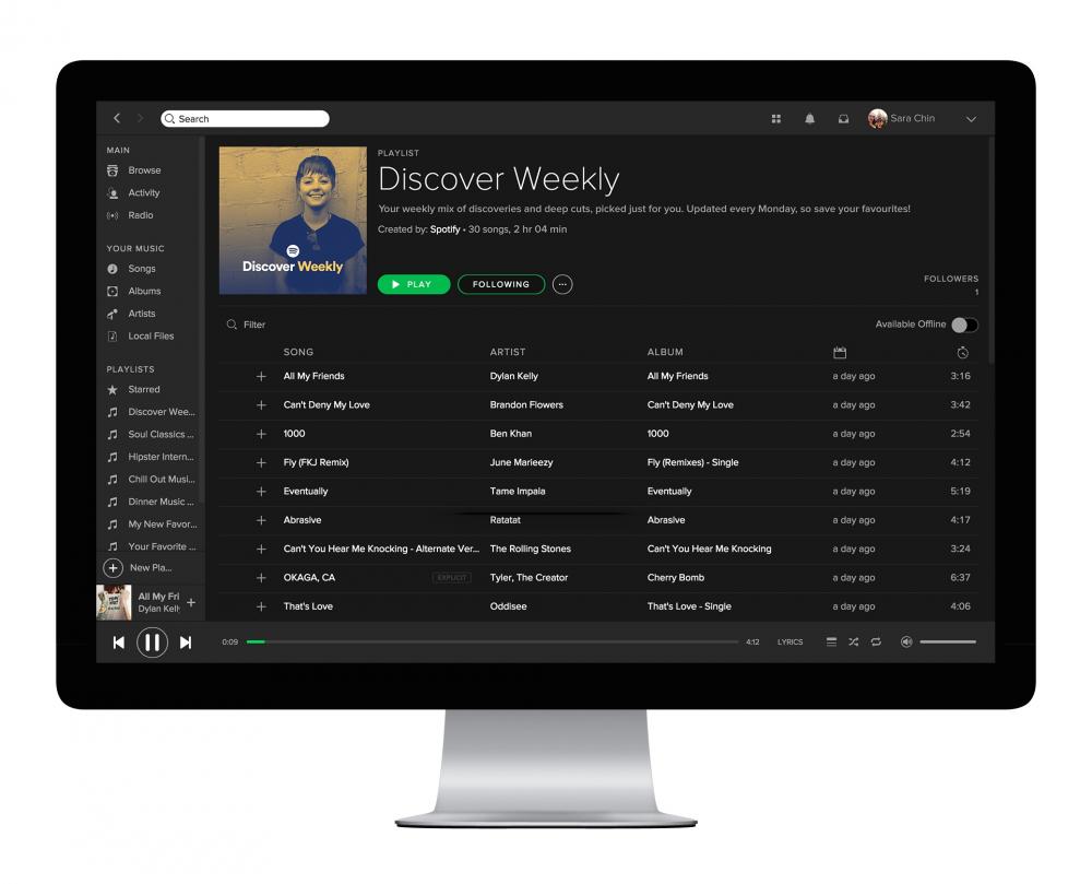 Ξεπέρασε τα 60 εκατομμύρια συνδρομητές το Spotify