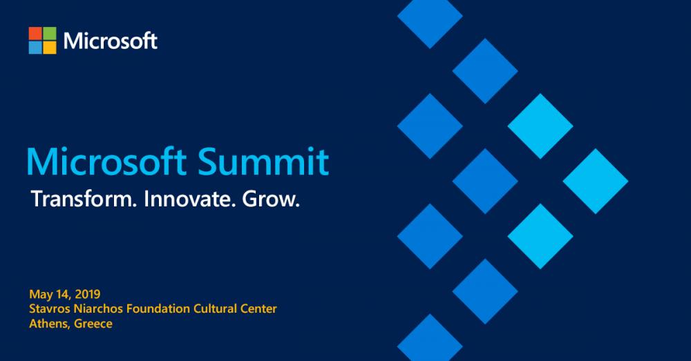 Στις 14 Μαΐου το 4ο Microsoft Summit