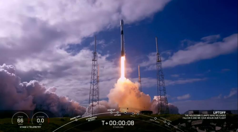 Άλλους 60 δορυφόρους του δικτύου Starlink σήκωσε ο Elon Musk