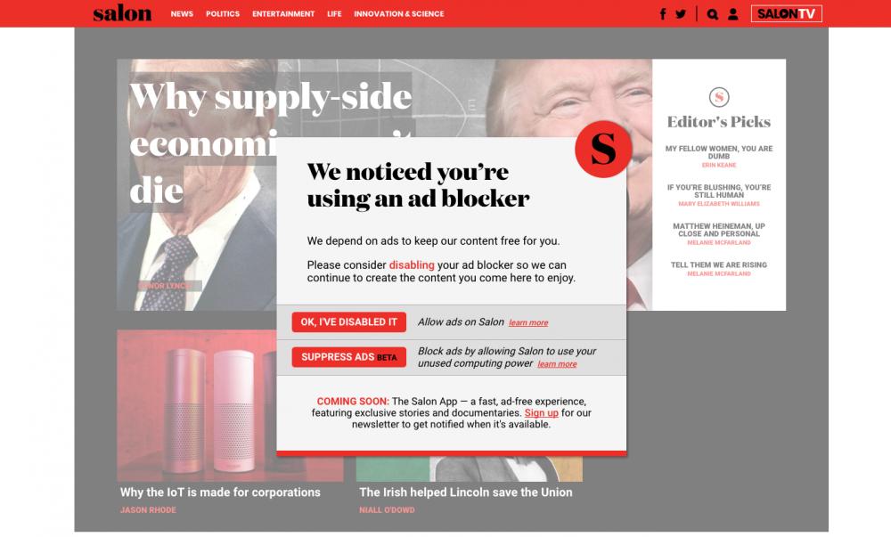 Το online περιοδικό που αγκάλιασε το crypto-mining