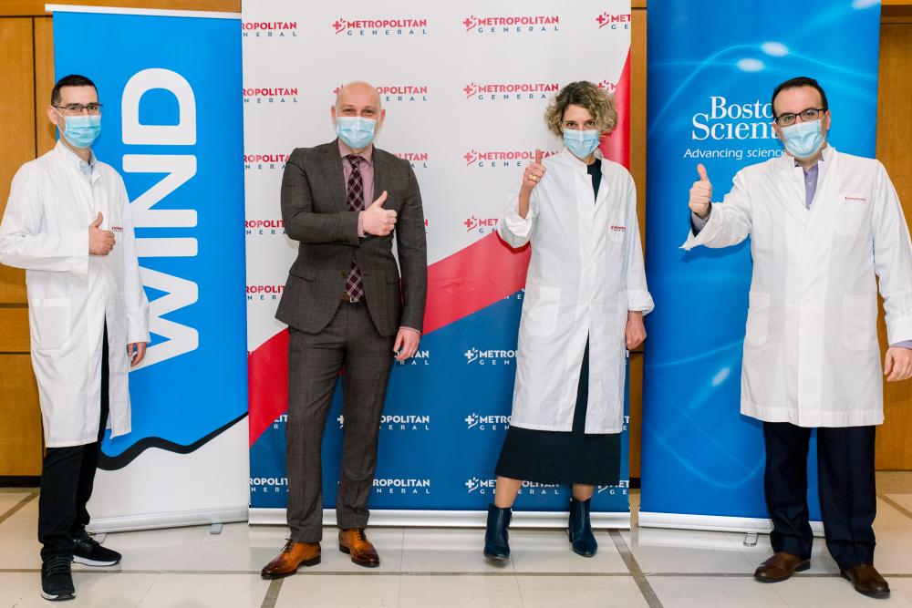 Wind: μέσα της οπτικής ίνας της 4000 γιατροί παρακολούθησαν ζωντανά πρωτοποριακοί επέμβαση