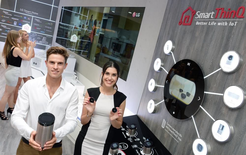 Το έξυπνο σπίτι της LG συμβατό και με την Alexa της Amazon