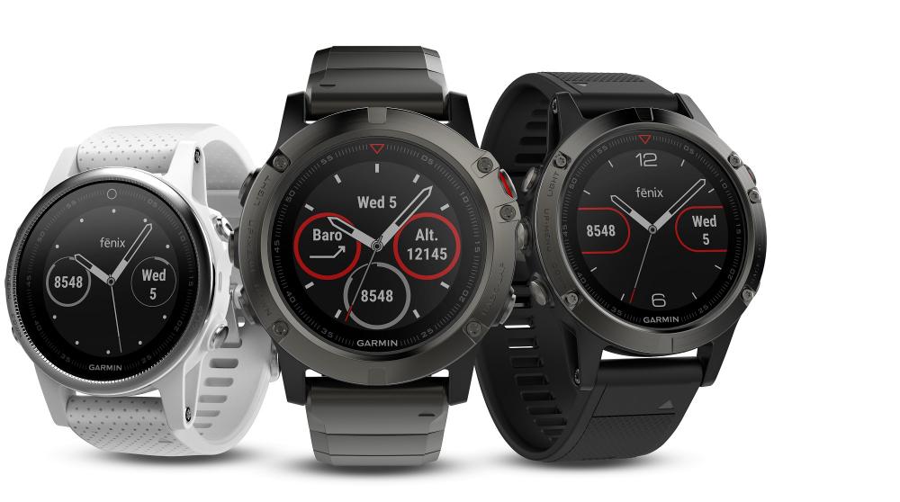 Τα νέα smartwatches Garmin fēnix 5 αποκλειστικά στα καταστήματα Γερμανός