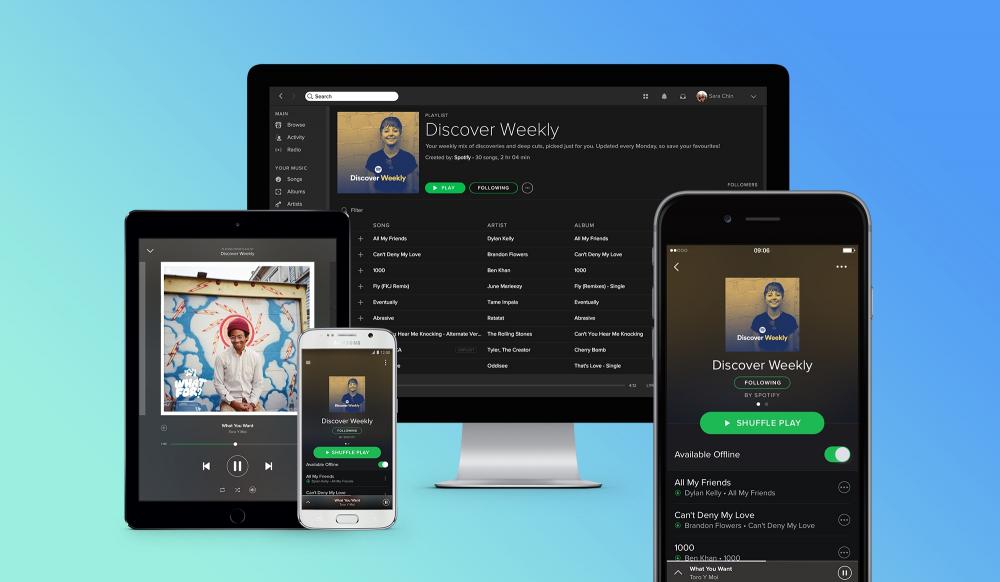 Βολές Spotify εναντίον της Apple