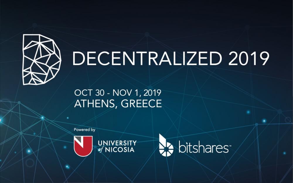 Decentralized 2019: Το κoρυφαίο συνέδριο για blockchain επιστρέφει και φέτος στην Ελλάδα
