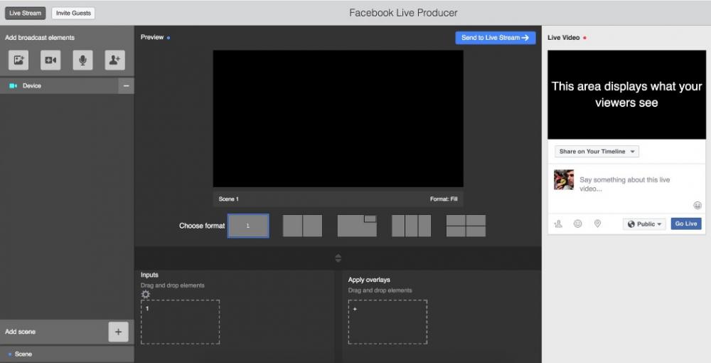 Live broadcasting στο Facebook με πολλαπλές κάμερες