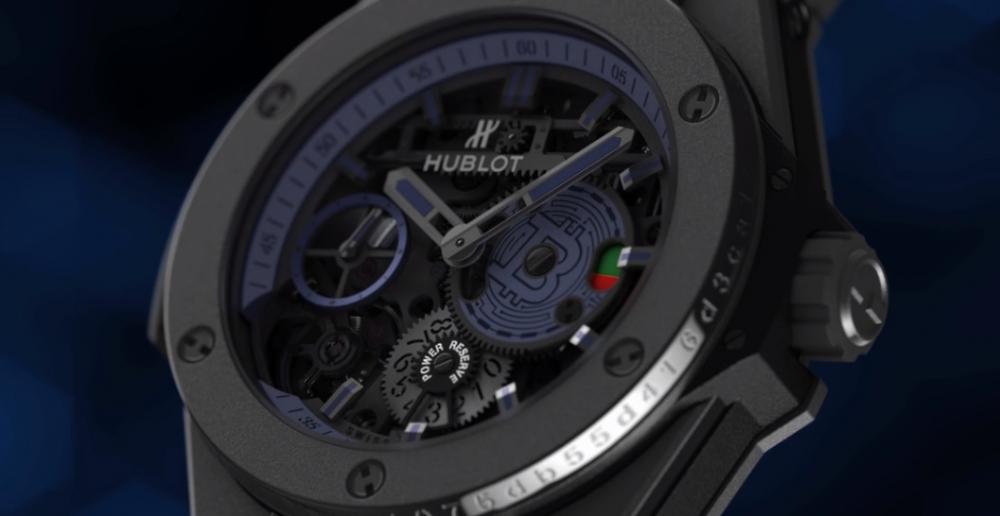 H Hublot γιορτάζει τα 10 χρόνια του Bitcoin με ένα συλλεκτικό ρολόι