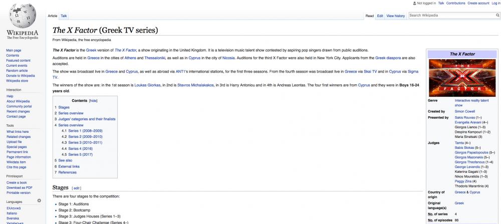 Μάντεψε τι κάνω στη Wikipedia