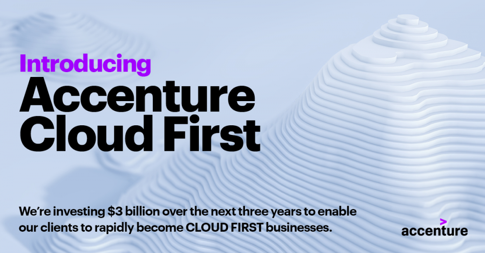Accenture: επένδυση 3 δισ. δολαρίων για την επιτάχυνση της μετάβασης των πελατών της στο cloud