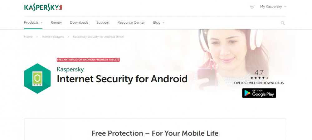 Aνανεωμένο Kaspersky Internet Security for Android