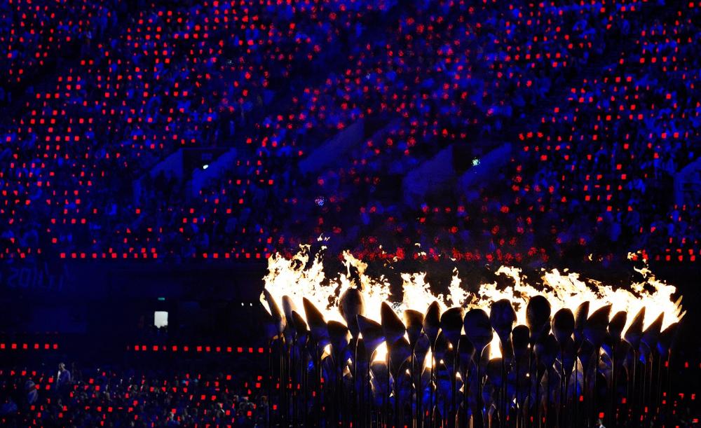 Ολυμπιακοί Αγώνες 2012: Δικτυακό επιμύθιο