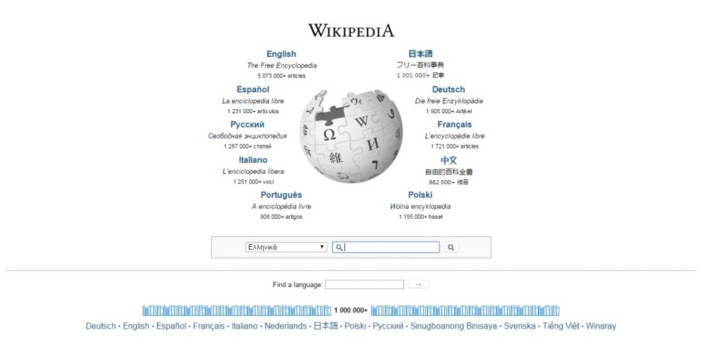 Στις μηχανές αναζήτησης (ξανά) η Wikipedia