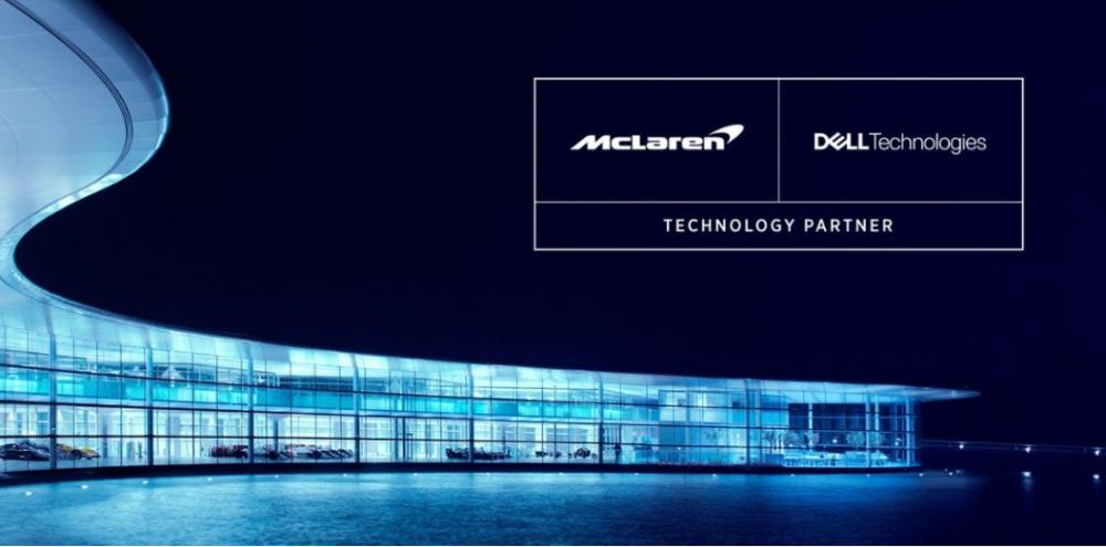 Ευρεία συνεργασία της Dell Technologies με τη McLaren