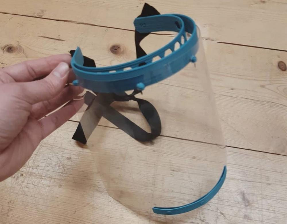 Ελληνική εταιρεία δημιούργησε πρότυπη μάσκα προστασίας για ΜΕΘ με 3D εκτυπωτή