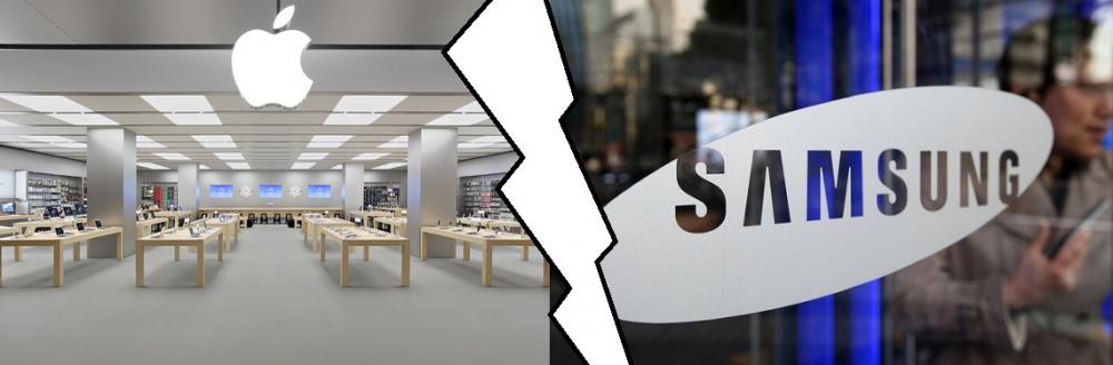 Ισοπαλία Apple με Samsung