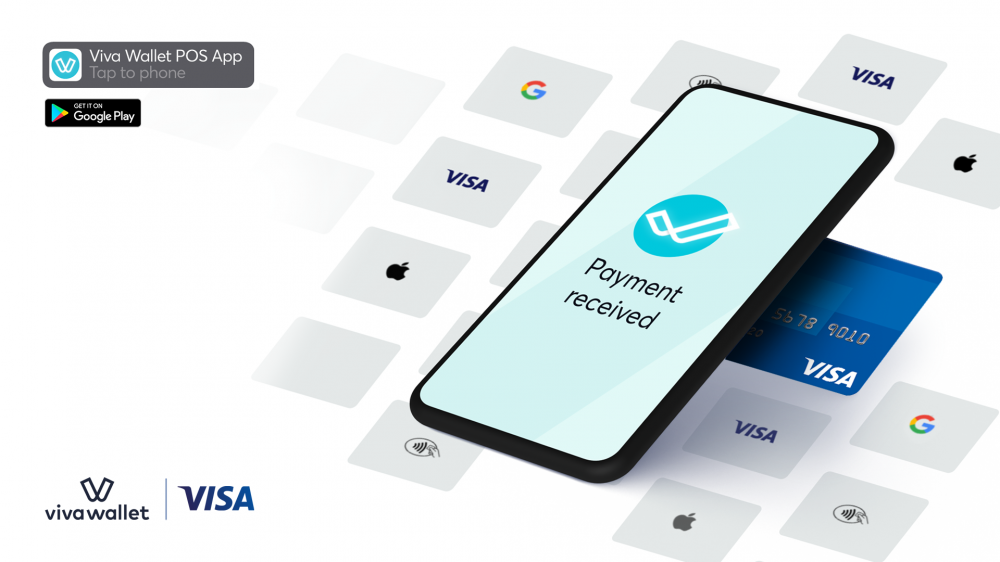 Mε το Viva Wallet POS app κάθε Android κινητό μετατρέπεται σε τερματικό αποδοχής καρτών