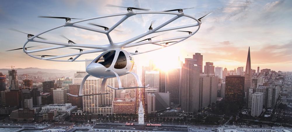 Ηλεκτροκίνητο ιπτάμενο ταξί ετοιμάζει η Volocopter