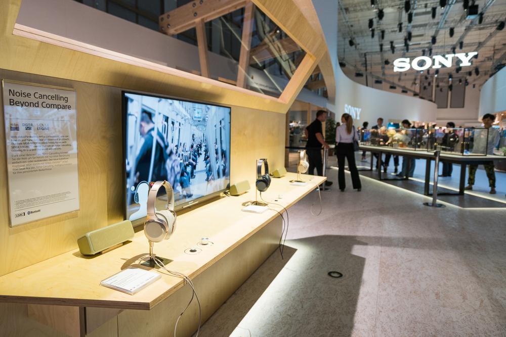 Sony: πολύπλευρη η παρουσία της στην IFA 2016