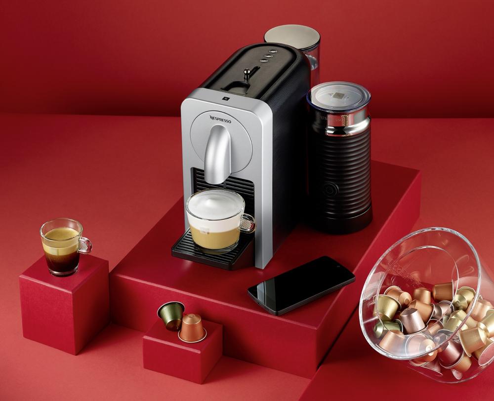 Nespresso Prodigio: η πρώτη συνδεδεμένη μηχανή Nespresso