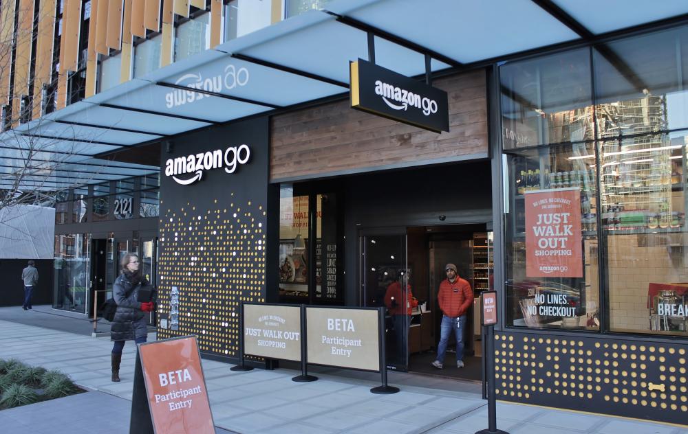 Πρεμιέρα για το Amazon Go