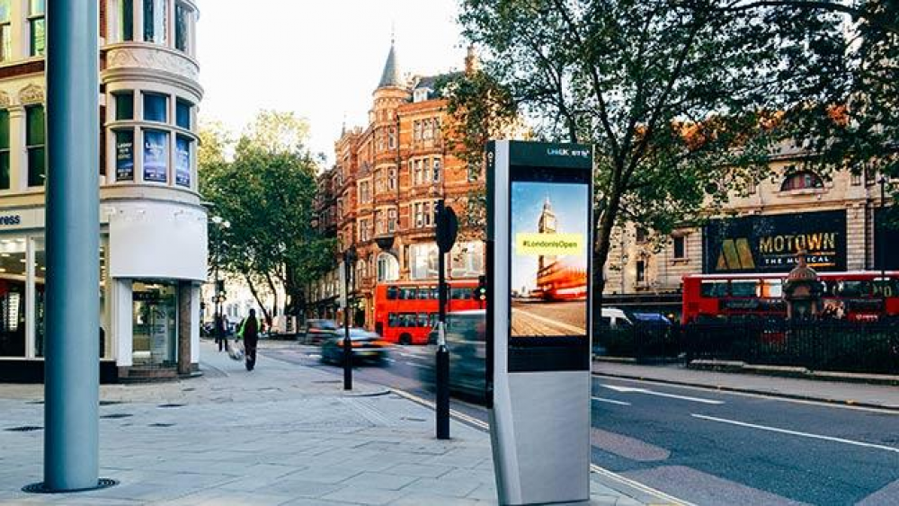 Free WiFi και στο Λονδίνο