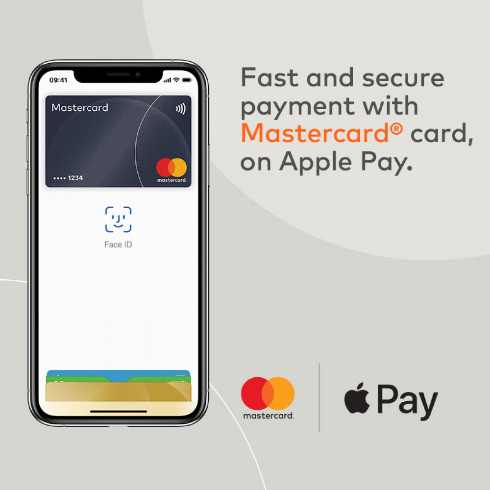 Η ανακοίνωση της Mastercard για το Apple Pay
