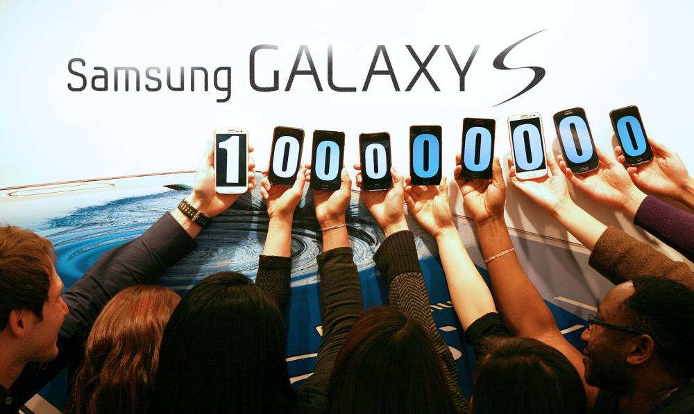 100 εκατομμύρια Samsung Galaxy S