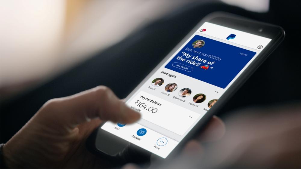 Βελτιωμένη η νέα εφαρμογή της PayPal