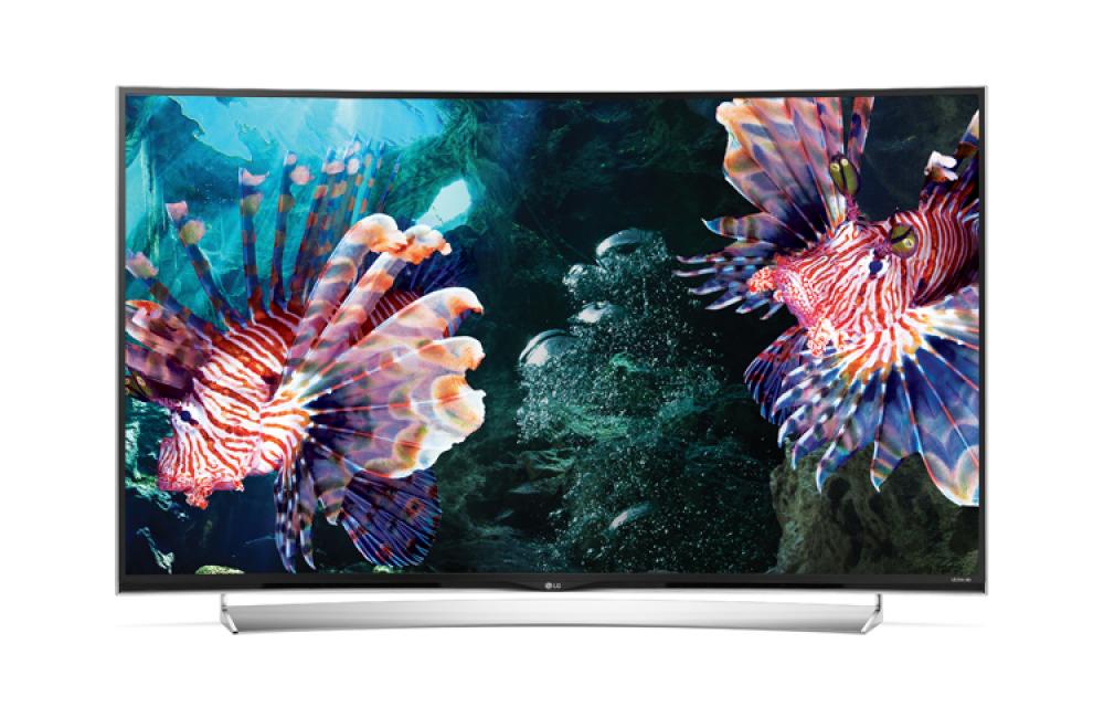 Νέα σειρά κυρτών τηλεοράσεων 4K από την LG