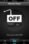 OFFRadio iPhone Application