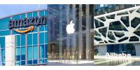 Amazon, Apple και Alibaba: οι εταιρείες που επαναπροσδιορίζουν τον τεχνολογικό κλάδο