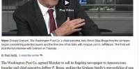 Ο Τζεφ Μπέζος αγοράζει τη Washington Post