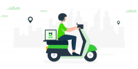 Green Panda Scooter: πώληση smartphones στην άνεση του σπιτιού σου