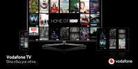 Vodafone TV: 80% αύξηση της τηλεθέασης το δεύτερο 15θήμερο του Μαρτίου