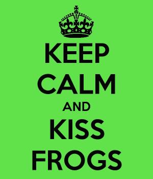 Φιλώντας βατράχους (με την καλή έννοια)