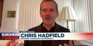 O πρώην αστροναύτης Chris Hadfield δίνει συμβουλές απομόνωσης