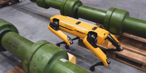 Ο «σκύλος», τo ρομπότ της Boston Dynamics έπιασε δουλειά
