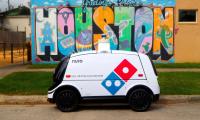Domino's: delivery πίτσας με ρομπότ στο Χιούστον