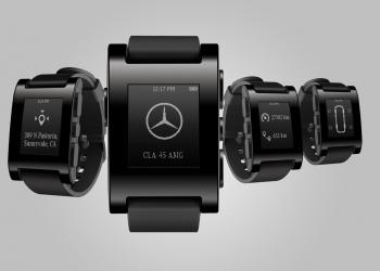 Ελέγχοντας τη Mercedes από το Pebble