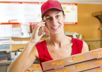 Pizza delivery από το Google Search
