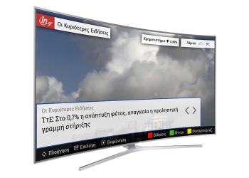 Το in.gr στις Smart TVs της Samsung