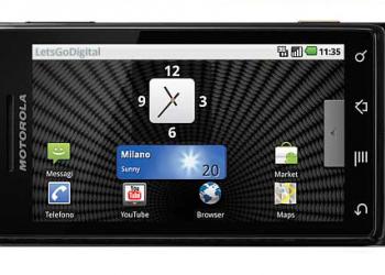 Motorola Milestone (με Android 2.1)