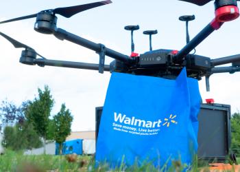 Ψώνια του σουπερμάρκετ μέσω drone