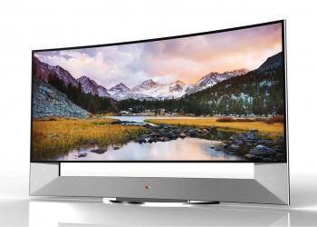 Ντεμπούτο στη CES 2014 για τη μεγαλύτερη κυρτή Ultra HD τηλεόραση