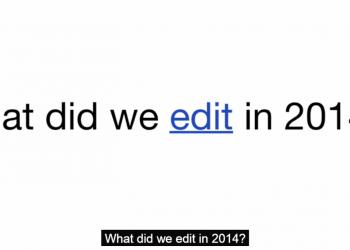 Τα μεγάλα γεγονότα του 2014 μέσα από τη Wikipedia
